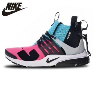 new style 830c4 9f6c9 ... X NIKE AIR PRESTO MID Running Shoes Sneakers Sports Breathable 844672  100 for Men 40 45-in Running Shoes from Sports   Entertainment on  Aliexpress.com ...